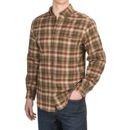Wolverine Elkhart Shirt - Long Sleeve (For Men) in Espressso - Overstock