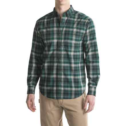 Wolverine Elkhart Shirt - Long Sleeve (For Men) in Hemlock - Overstock