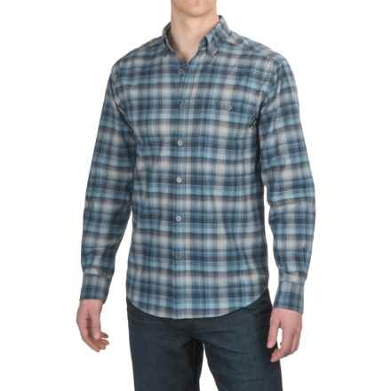 Wolverine Elkhart Shirt - Long Sleeve (For Men) in Navy - Overstock