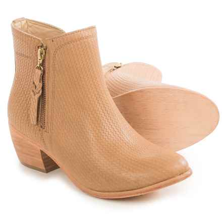 Wolverine Ella Ankle Boots - Leather, Factory 2nds (For Women) in Beige - 2nds