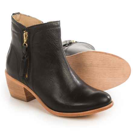 Wolverine Ella Ankle Boots - Leather, Factory 2nds (For Women) in Black - 2nds