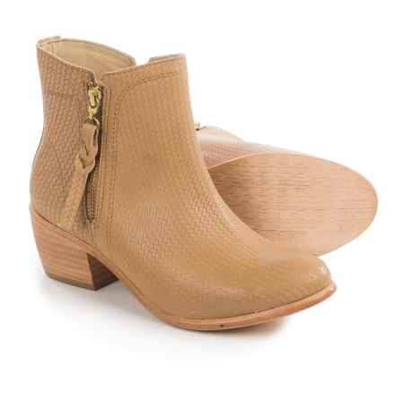 Wolverine Ella Ankle Boots - Leather (For Women) in Beige - Closeouts