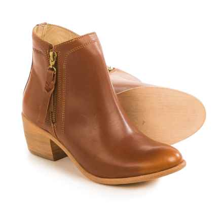 Wolverine Ella Ankle Boots - Leather (For Women) in Tan - Closeouts