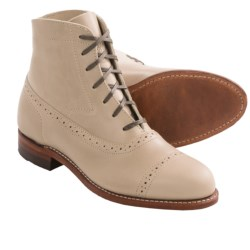 Wolverine Evelyn 1000 Mile Boots - Factory 2nds, Leather (For Women) in Dove