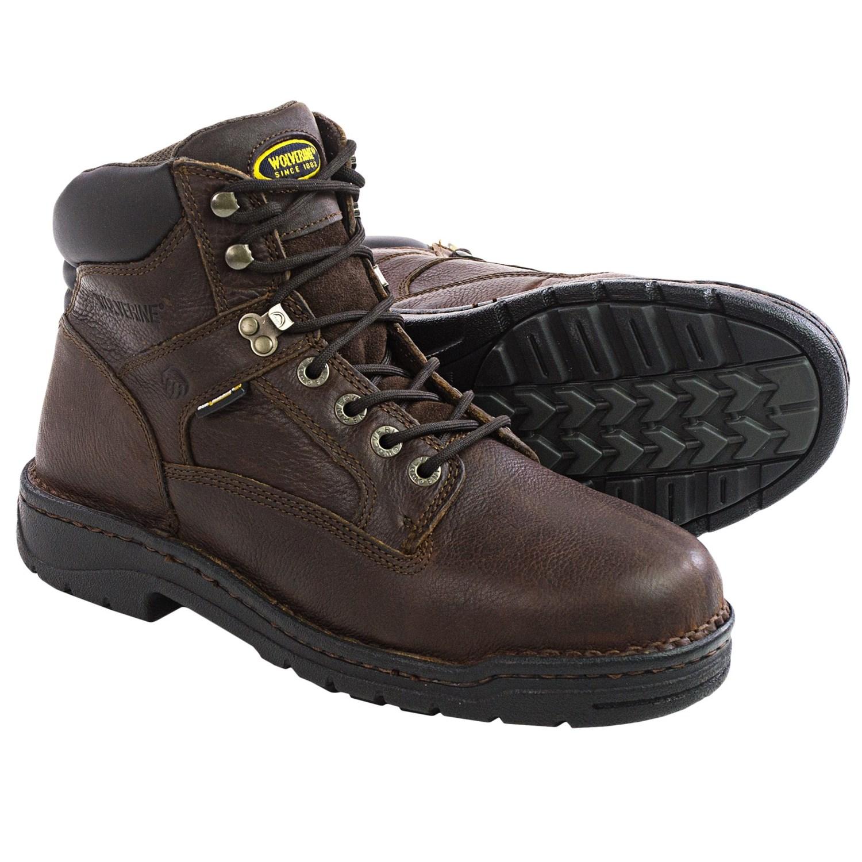 1884fa24575 Wolverine Exert DuraShocks Work Boots (For Men) 119YT 50 on PopScreen