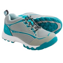 Wolverine Fairmont Work Shoes - Steel Toe (For Women) in Grey/Aqua - Closeouts