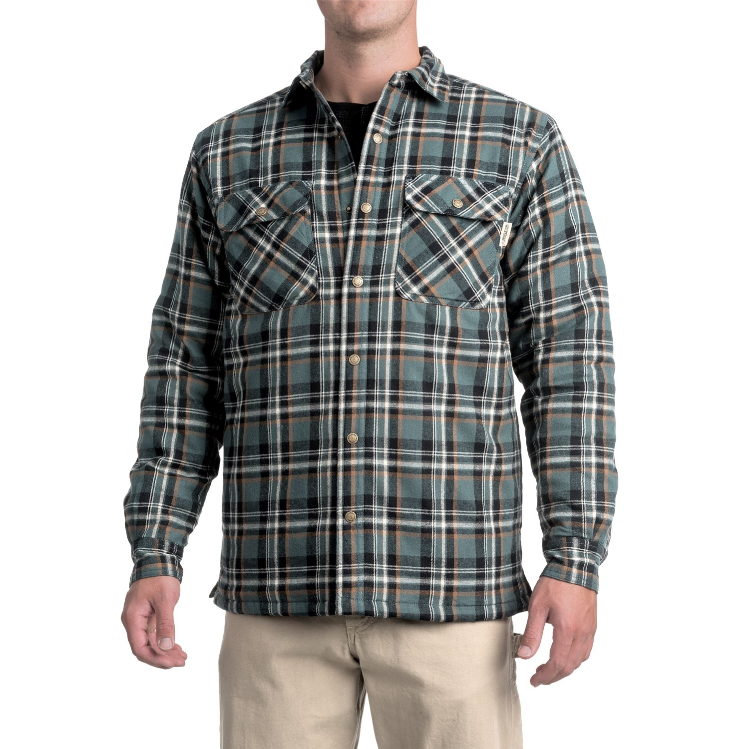 Wolverine Forester Lined Cotton Shirt Jacket (For Men) - Save 50%