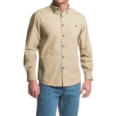 Wolverine Garrison Shirt - Long Sleeve (For Men) in Khaki - Closeouts
