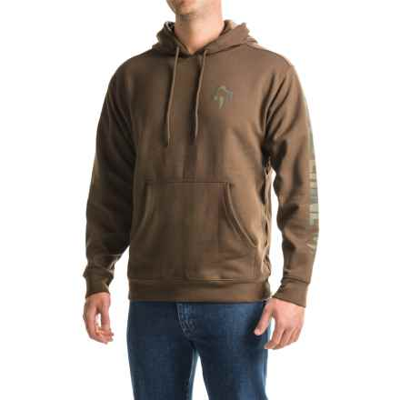 Wolverine Graphic Hoodie (For Men) in Bison - Overstock