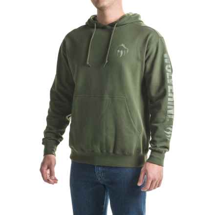 Wolverine Graphic Hoodie (For Men) in Olive - Overstock