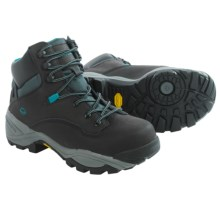"Wolverine Growler LX Work Boots - 6"", Composite Toe (For Women) in Black/Aqua - Closeouts"