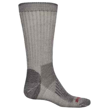 Wolverine Half-Cushion Hiking Socks - Merino Wool, Crew (For Men) in Gray - Closeouts