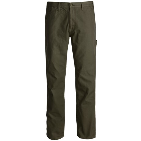 Wolverine Hammer Loop Pants (For Men) in Olive