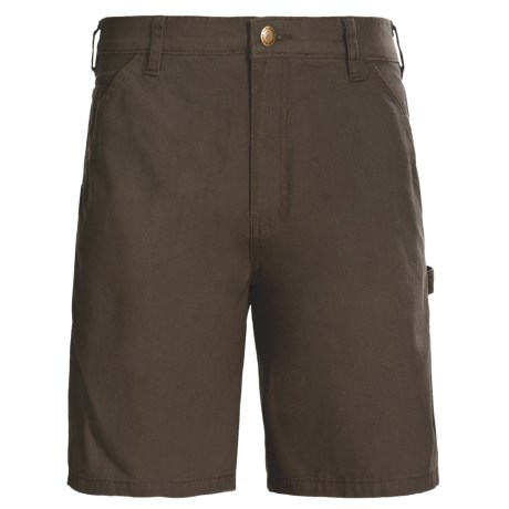 Wolverine Hammer Loop Shorts - Cotton Canvas (For Men) in Bison