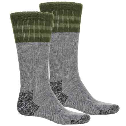 Wolverine Hunter Cuff Socks - 2-Pack, Over the Calf (For Men) in Hunter - Closeouts