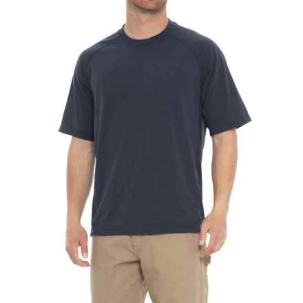 Wolverine Hybrid T-Shirt - UPF 30, Short Sleeve (For Men) in Navy - Closeouts