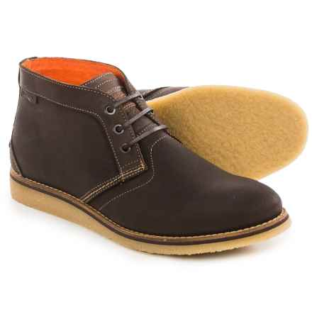 Wolverine Julian Chukka Boots - Leather (For Men) in Dark Brown - Closeouts
