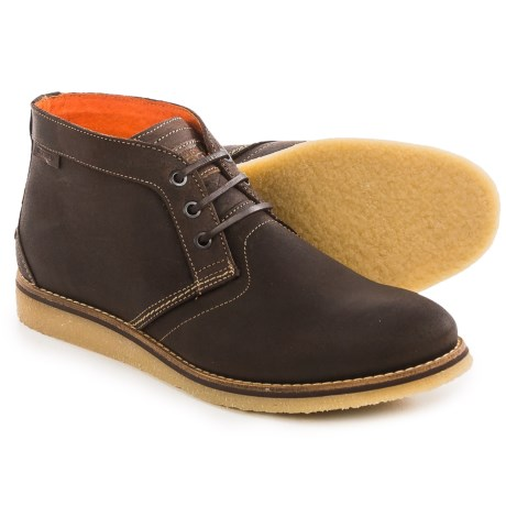 Wolverine Julian Chukka Boots - Leather (For Men) in Dark Brown
