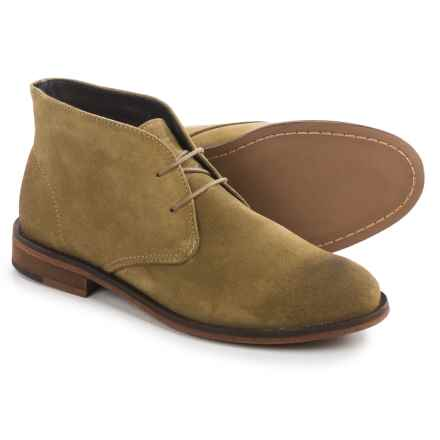 Wolverine Kay Chukka Boots - Suede (For Women) in Olive Suede - Closeouts
