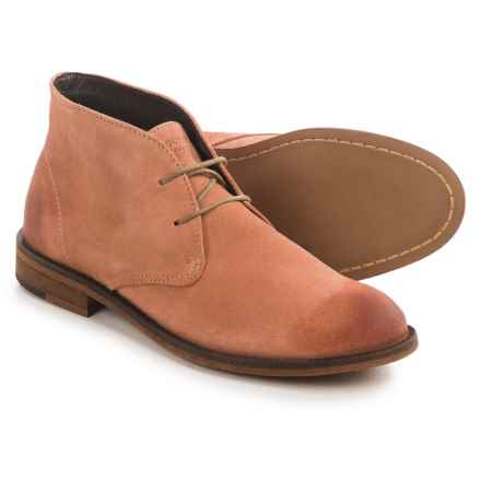 Wolverine Kay Chukka Boots - Suede (For Women) in Rose Suede - Closeouts