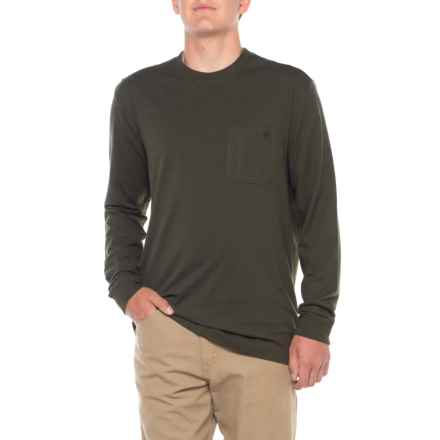 Wolverine Knox T-Shirt - Long Sleeve (For Men) in Olive - Closeouts