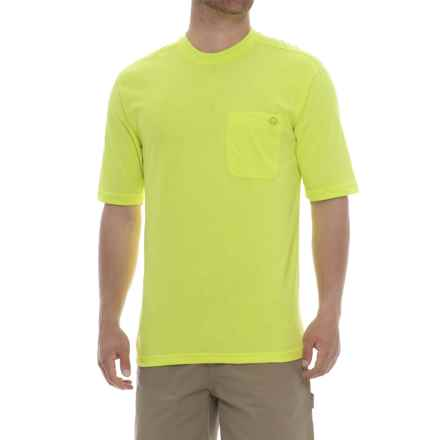 Wolverine Knox T-Shirt - Short Sleeve (For Men) in Hi-Vis Green - Closeouts