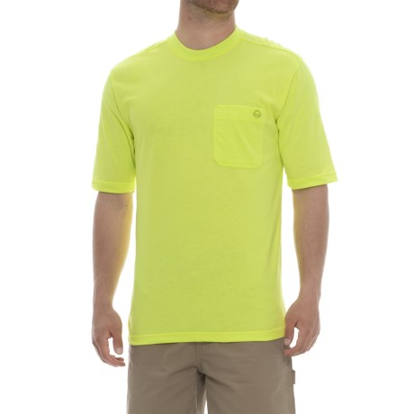 Wolverine Knox T-Shirt - Short Sleeve (For Men) in Hi-Vis Green