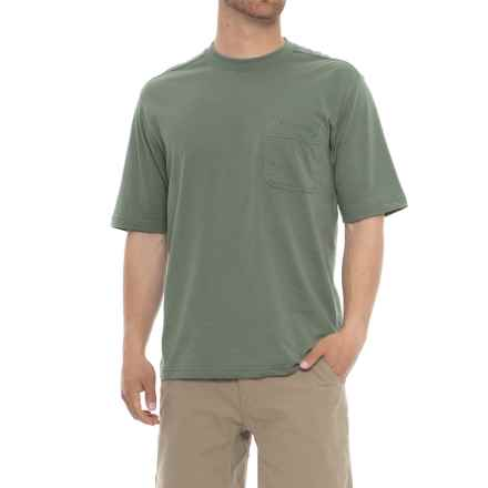 Wolverine Knox T-Shirt - Short Sleeve (For Men) in Sage - Closeouts