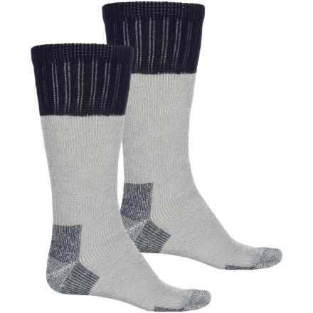 Wolverine Leg and Foot Socks - 2-Pack, Over the Calf (For Men) in Navy - Closeouts