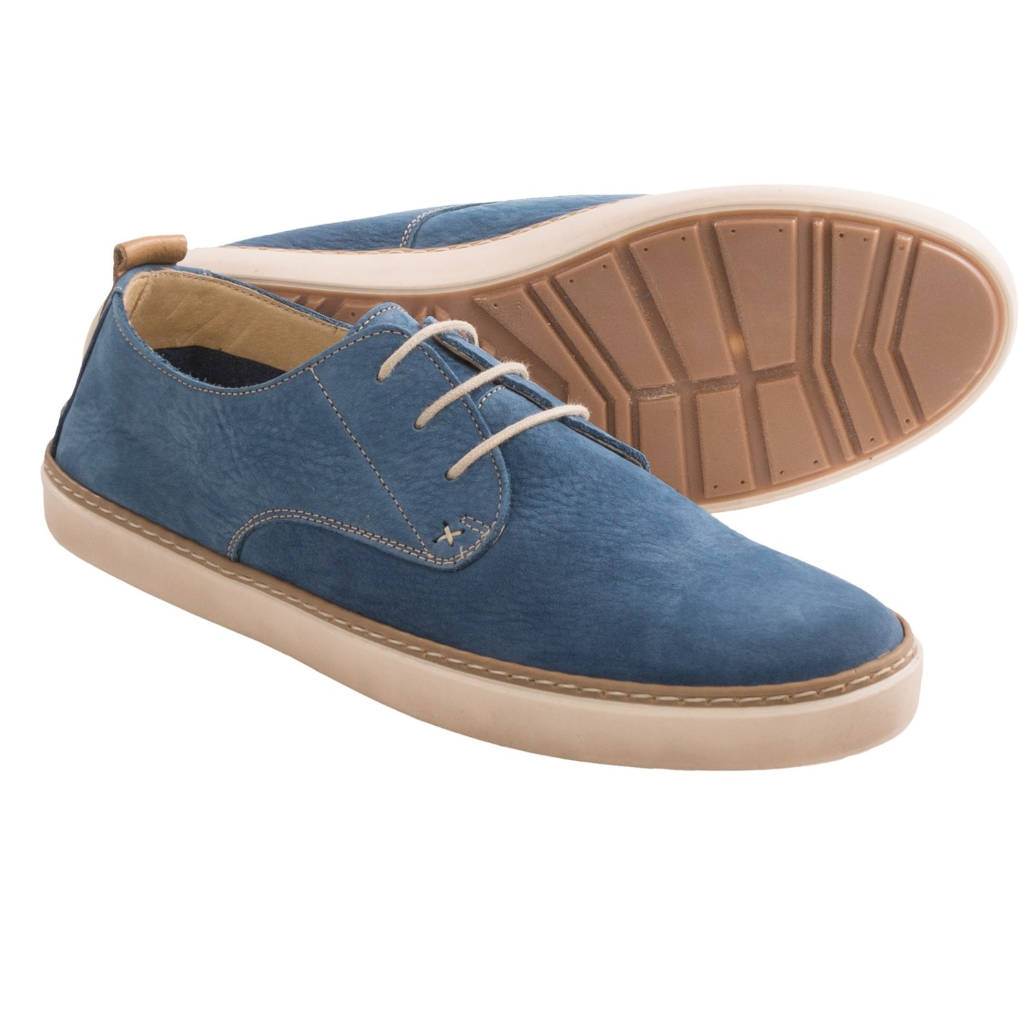 Wolverine Luis Leather Sneakers (For Men) in Navy