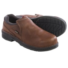 Wolverine Marcum DuraShocks® Work Shoes - Leather, Steel Toe (For Men) in Brown - Closeouts