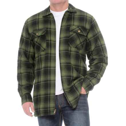 Wolverine Marshall Shirt Jacket (For Big and Tall Men) in Forest - Closeouts