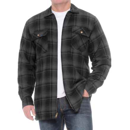 Wolverine Marshall Shirt Jacket (For Big and Tall Men) in Granite - Closeouts