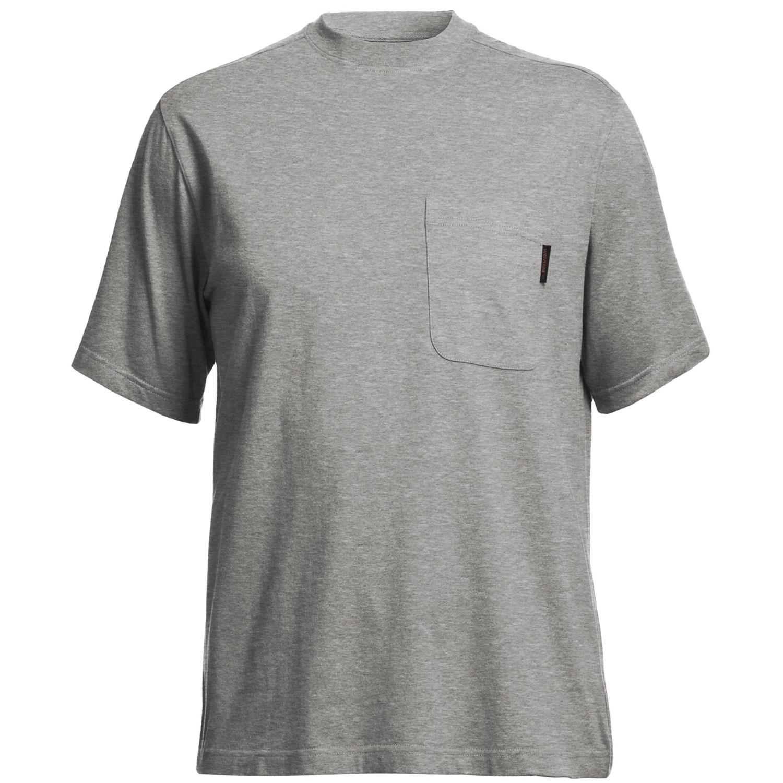 Wolverine mason pocket t shirt interlock jersey cotton for Mason s men s shirts