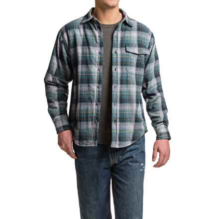 Wolverine Newago Flannel Shirt Jacket - Thermal Lining (For Men) in Bering - Closeouts