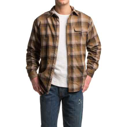 Wolverine Newago Flannel Shirt Jacket - Thermal Lining (For Men) in Ginger - Closeouts