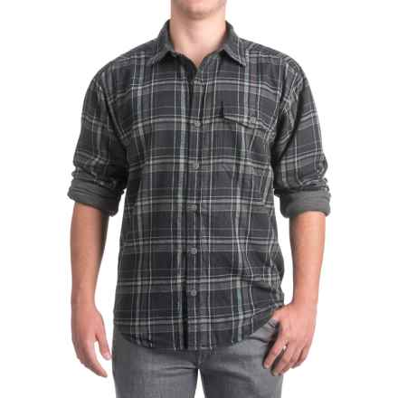 Wolverine Newago Flannel Shirt Jacket - Thermal Lining (For Men) in Hemlock - Closeouts
