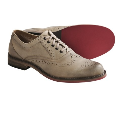 Wolverine No. 1883 Darin Oxford Shoes - Factory 2nds, Leather (For Men) in Light Taupe