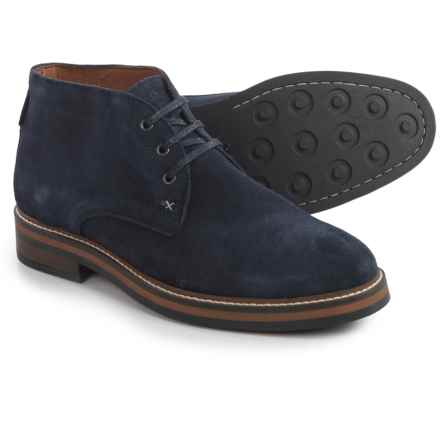 Wolverine No. 1883 Francisco Chukka Boots - Suede (For Men) in Navy - Closeouts