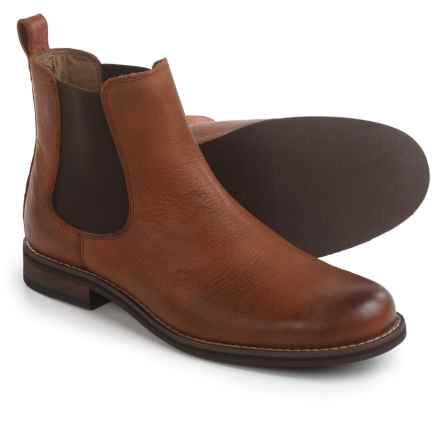 Wolverine No. 1883 Garrick Chelsea Boots - Leather (For Men) in Copper Brown - Closeouts