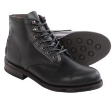 Wolverine No. 1883 Kilometer Lace-Up Boots - Factory 2nds in Black Leather - 2nds