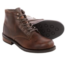 Wolverine No. 1883 Kilometer Lace-Up Boots - Factory 2nds in Brown Leather - 2nds