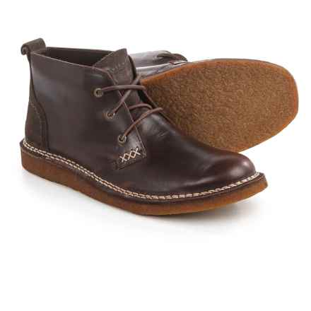Wolverine No. 1883 Lionel Leather Chukka Boots - Factory 2nds (For Men) in Brown Leather - 2nds