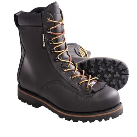 "Wolverine Northman Gore-Tex® Work Boots - Waterproof, 8"", Steel Toe (For Men) in Black"
