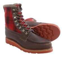Wolverine Peninsula Lace Boots - Factory 2nds, Leather (For Men) in Brown - 2nds