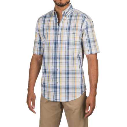 Wolverine Petoskey Shirt - Short Sleeve (For Men) in Cadet Blue - Overstock