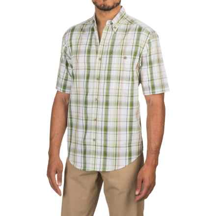 Wolverine Petoskey Shirt - Short Sleeve (For Men) in Dill - Overstock
