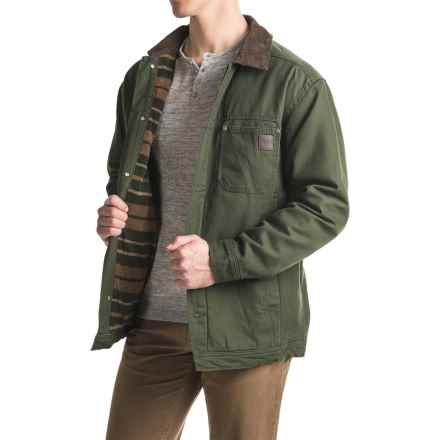 Wolverine Pierson Chore Coat (For Men) in Dark Olive - Overstock