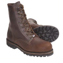 "Wolverine Plainsman 8"" Boots (For Men) in Brown - Closeouts"
