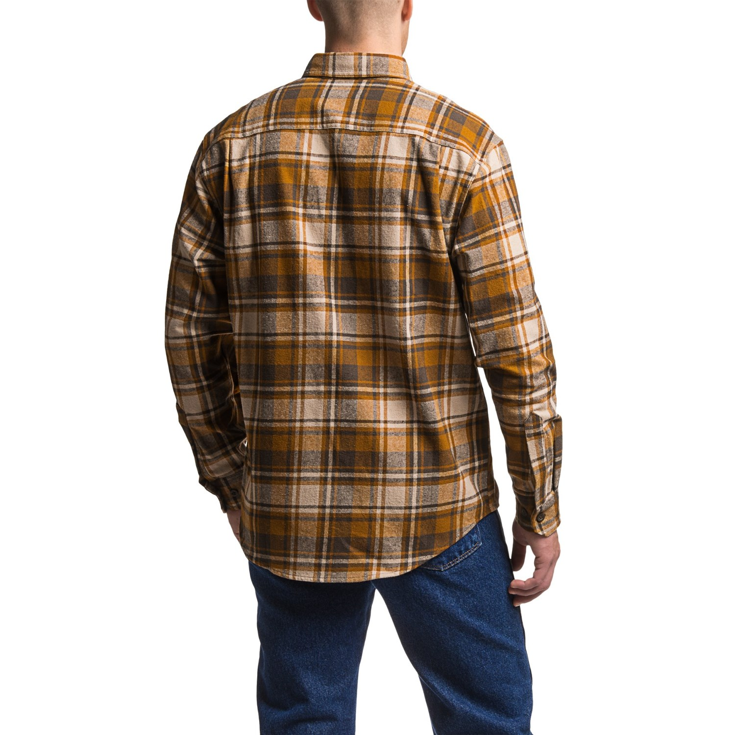 Wolverine Redwood Heavyweight Flannel Shirt For Men
